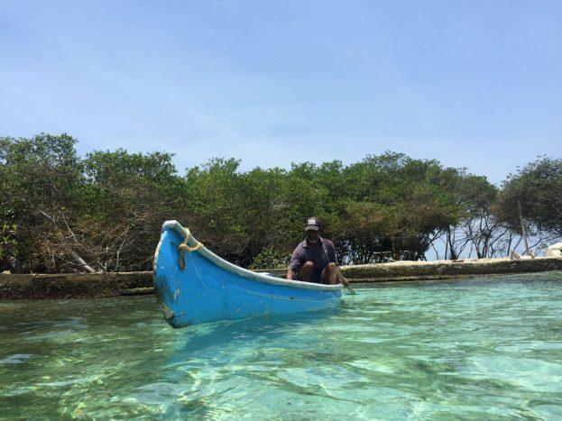 Félix, lanchero de la Isla Grande_ Autora Cinthia Giménez A_ Abril 2017