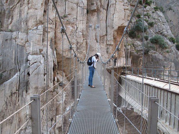 The King's Little Pathway_europanostra ward_caminito del rey_heritage_patrimonio-puente-colgante-meno