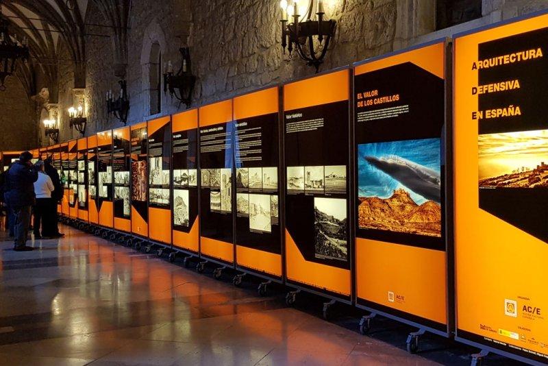 Exposición itinerante sobre Arquitectura Defensiva en España (AEAC)
