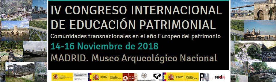 CARTEL-COLLAGE_#CIEP4-congreso-internacional-educacion-patrimonial-2018-madrid