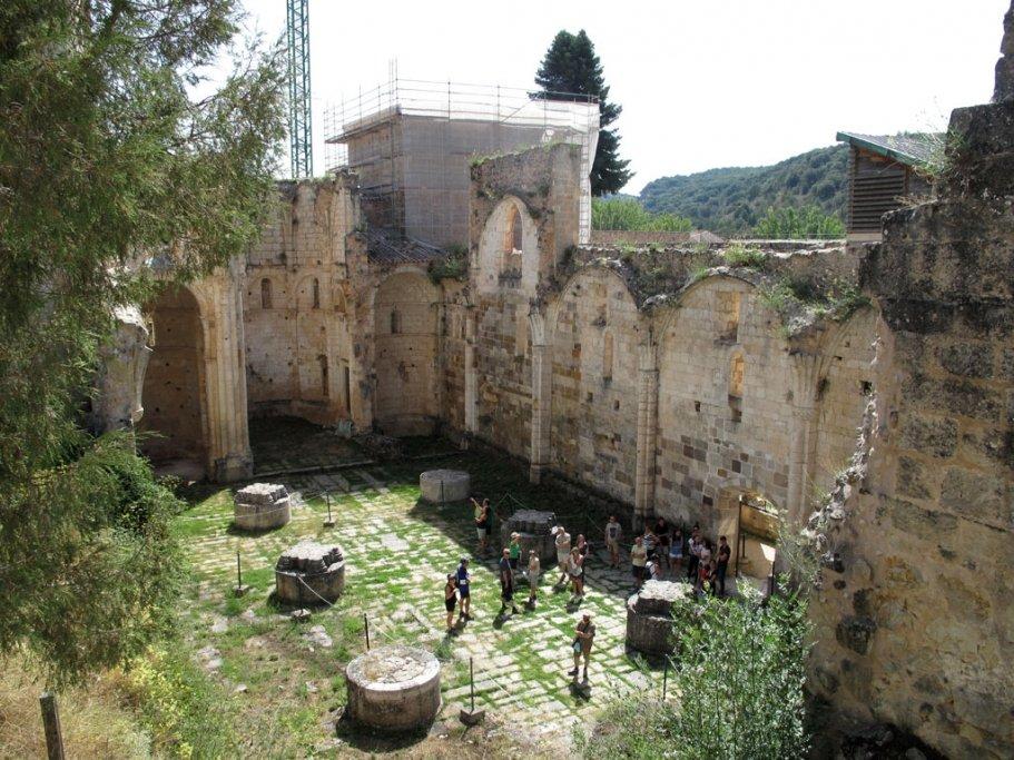Visita la restauración del monasterio de San Pedro de Arlanza